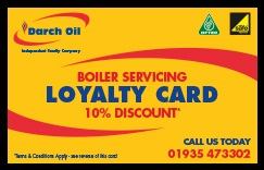 Darch Oil Loyalty Card-Front